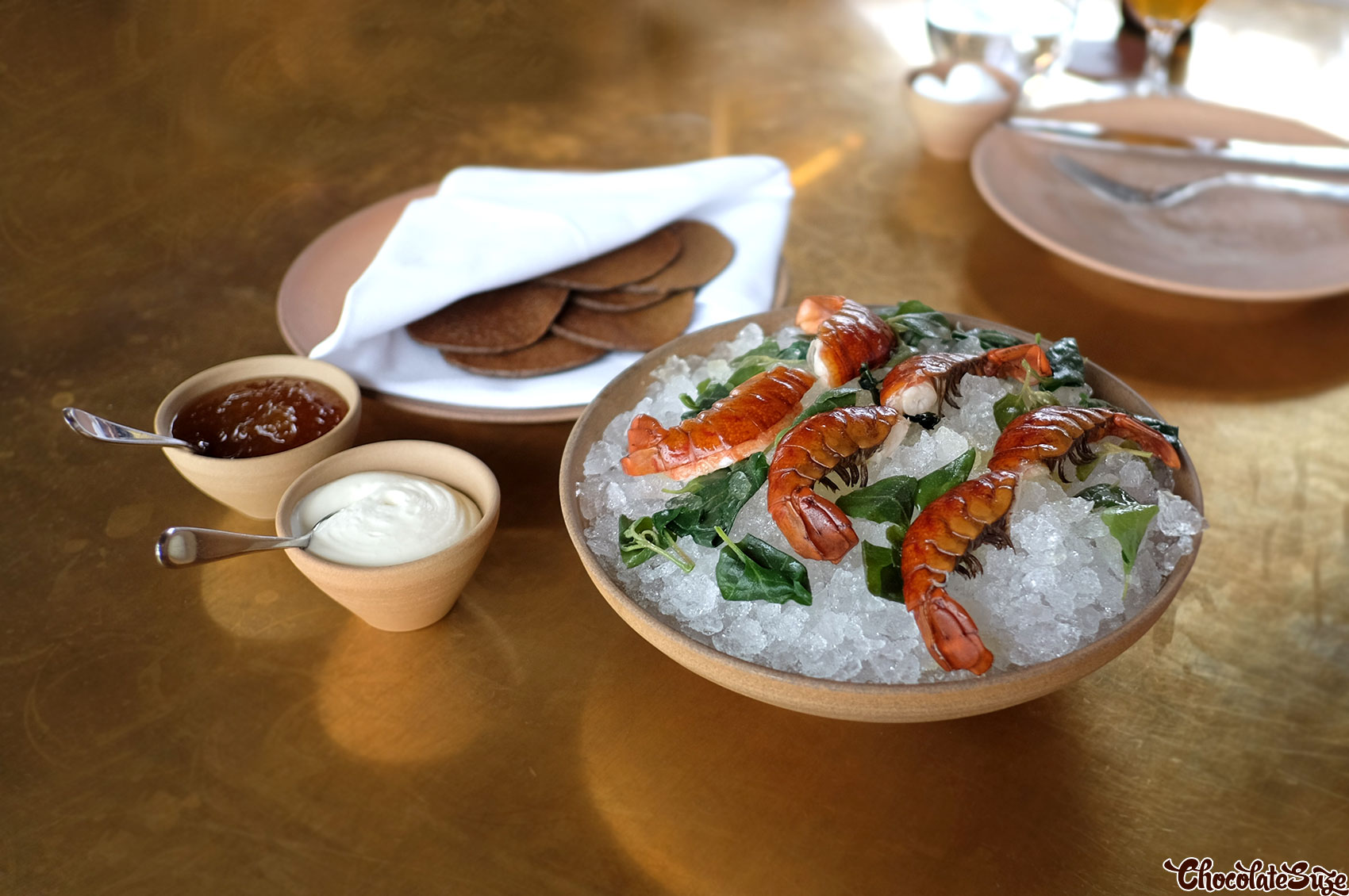 Yabbies at Cured & Cultured Bar @ Bennelong, Sydney Opera House