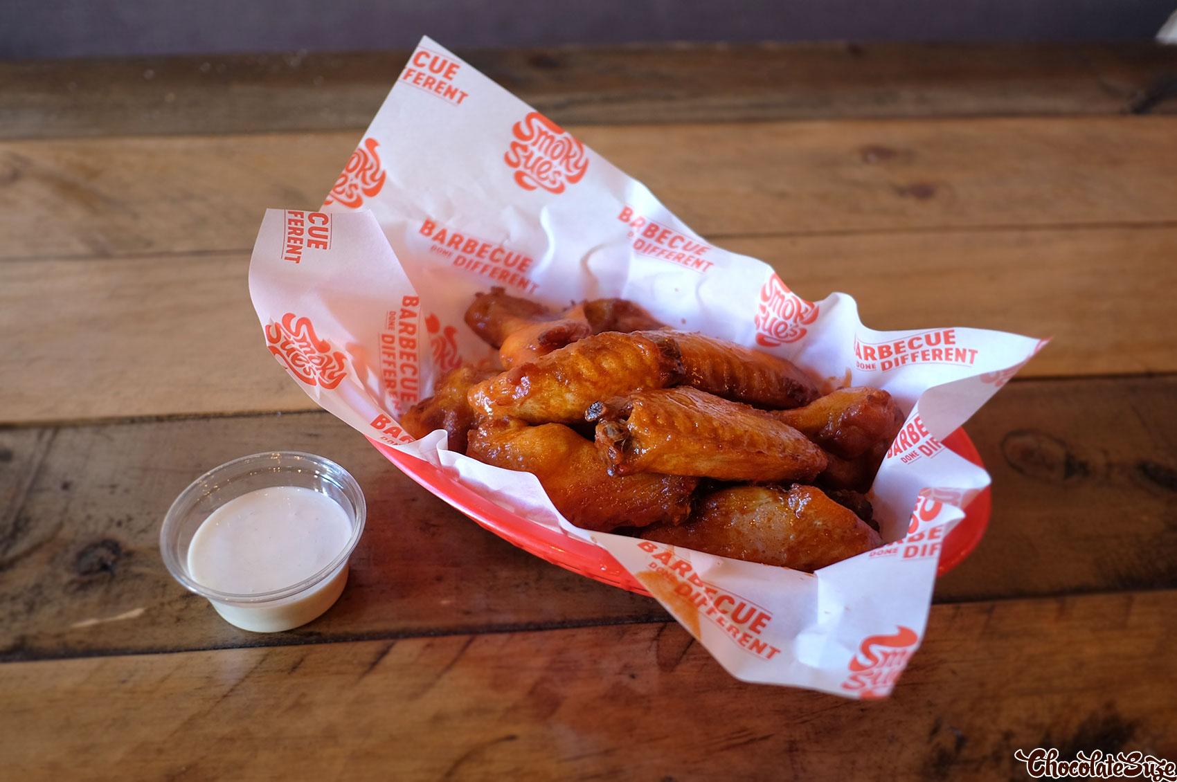 Hot wings at Smoky Sue's, Neutral Bay