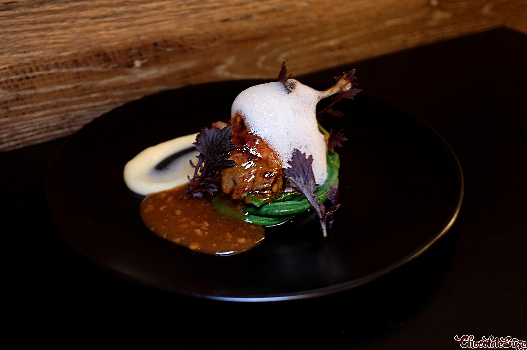 Roasted quail at Eiju Fusion Japanese Dining, Pyrmont