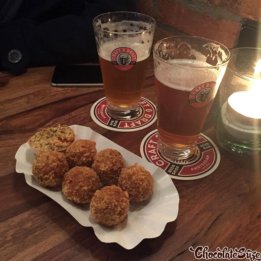 Bitterballen, Amsterdam