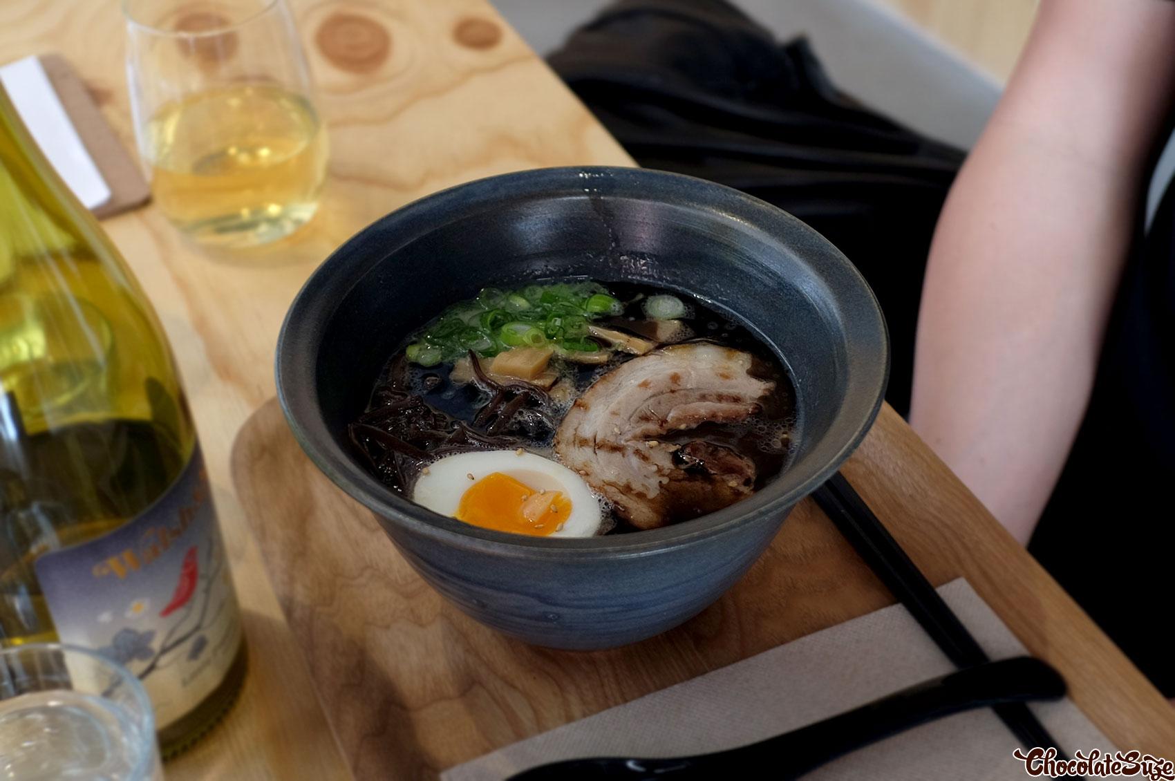 Black Garlic Tonkotsu Ramen @ RaRa, Redfern
