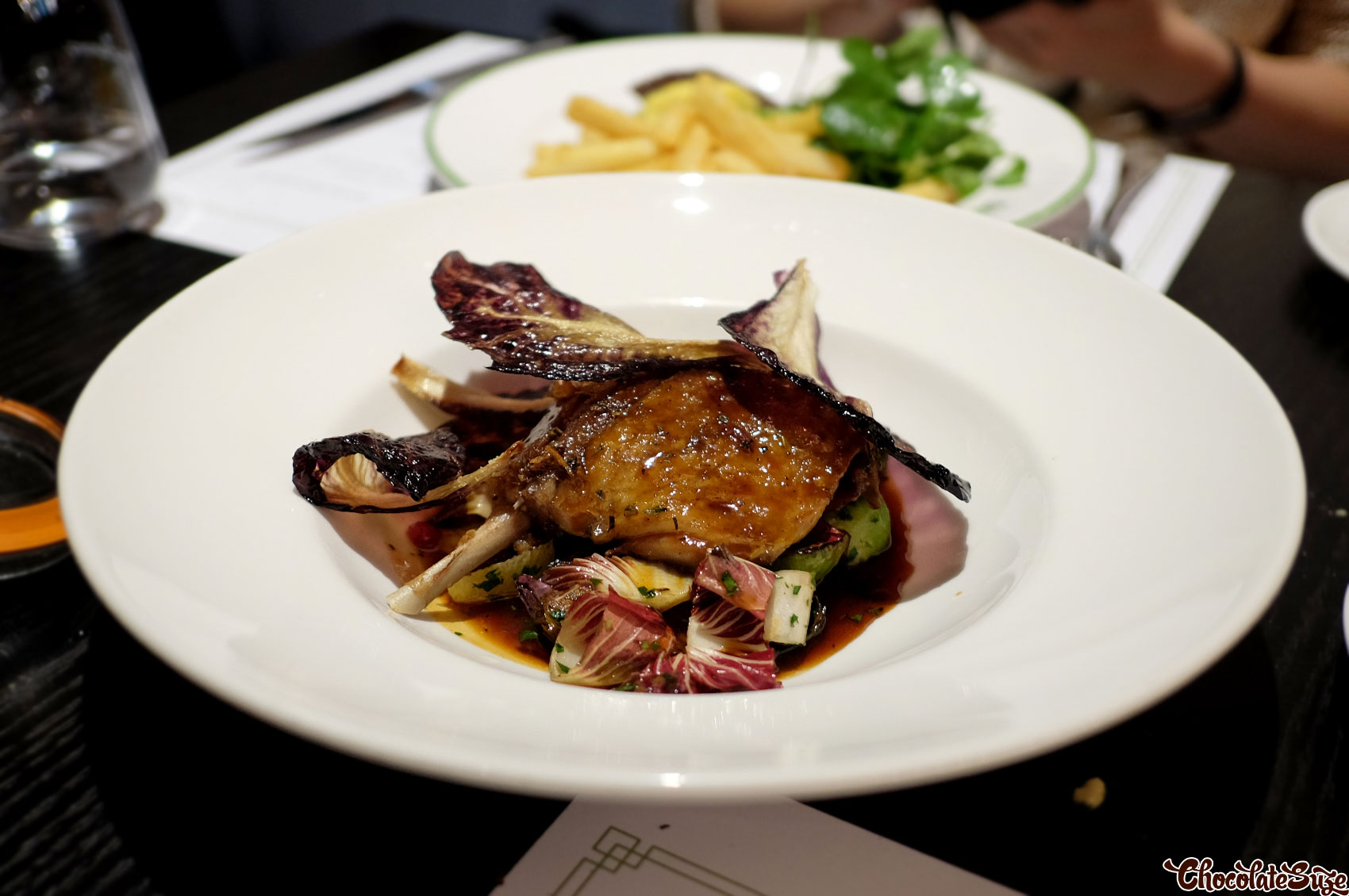 Duck at Bistro Guillaume, Sydney