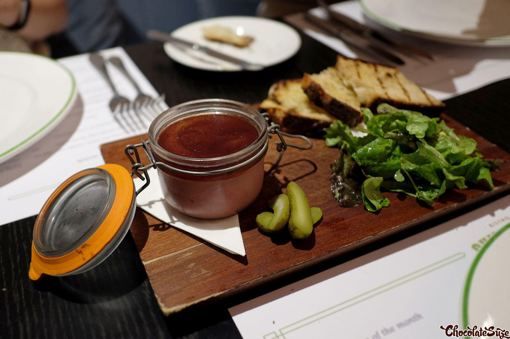 Pate at Bistro Guillaume, Sydney
