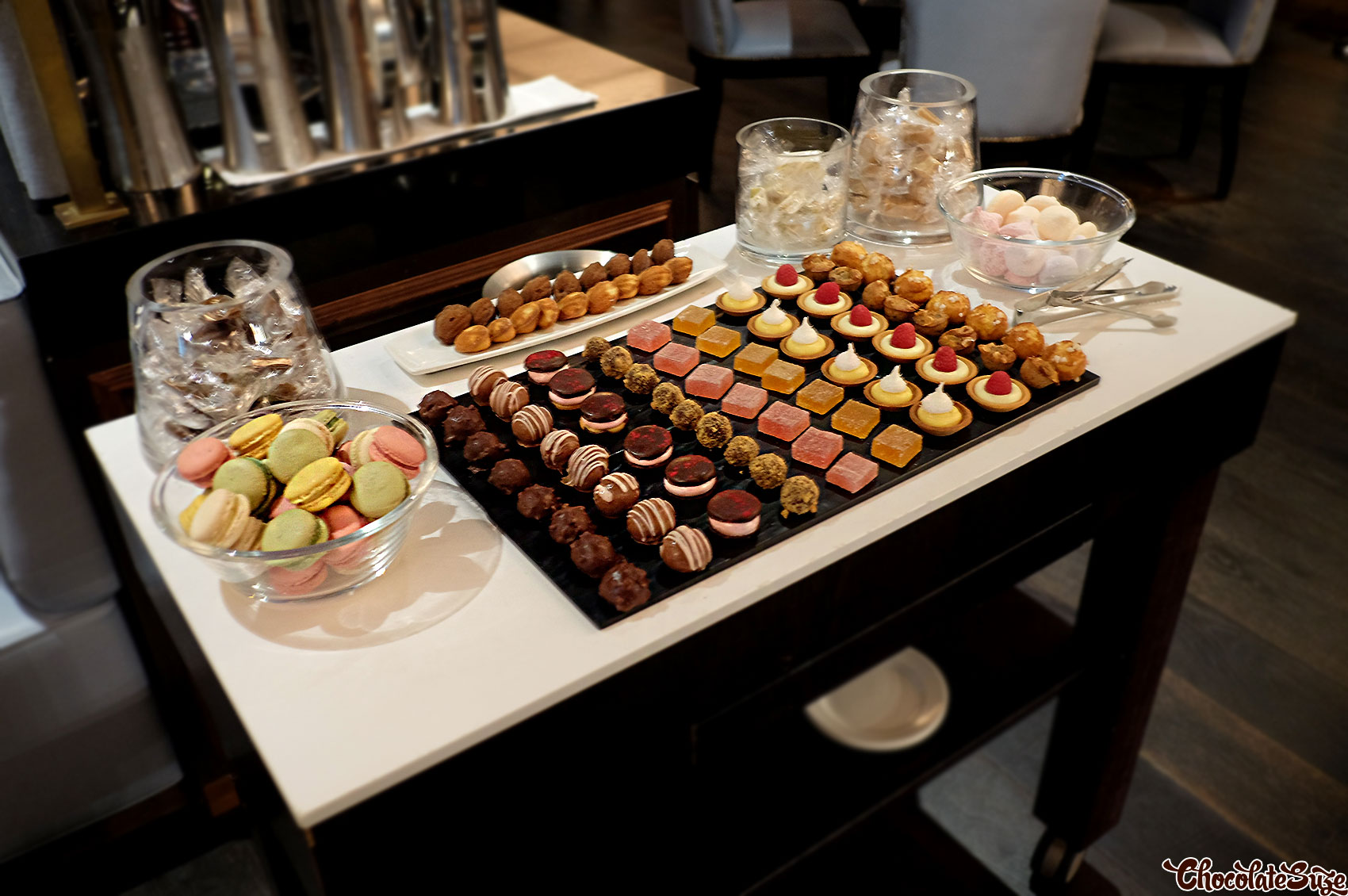 Petit Fours at Bistro Guillaume, Sydney