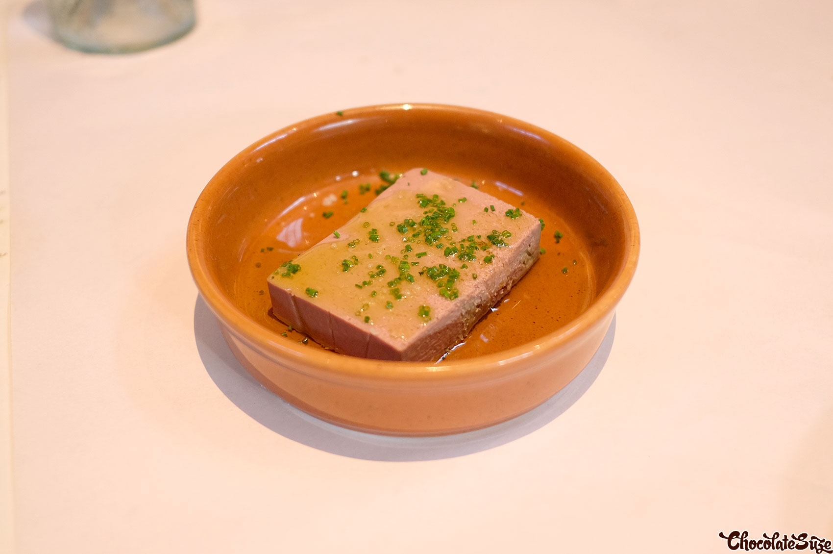 Chicken liver parfait at Totti's, Bondi