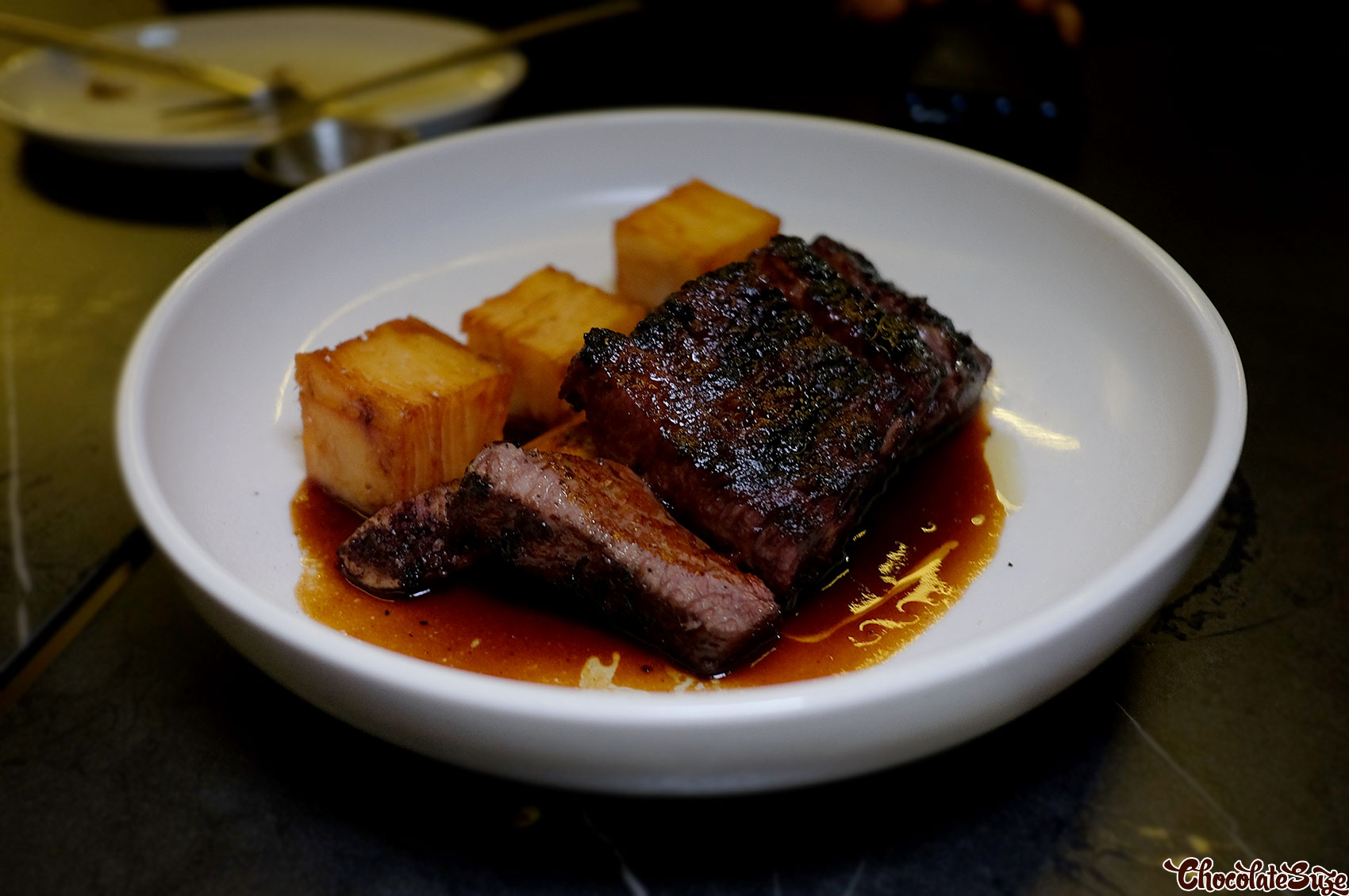Barbecue beef short rib at Soul Dining, Surry Hills