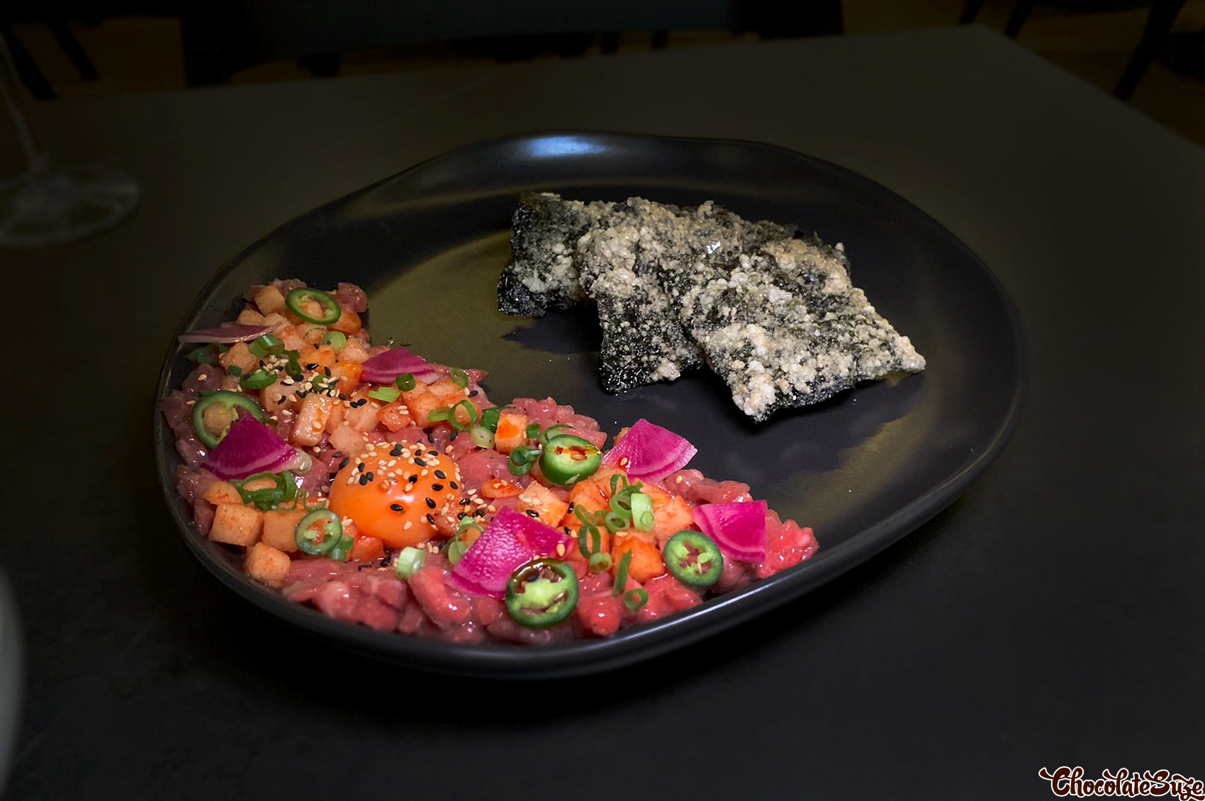 Wagyu beef tartare at Soul Dining, Surry Hills