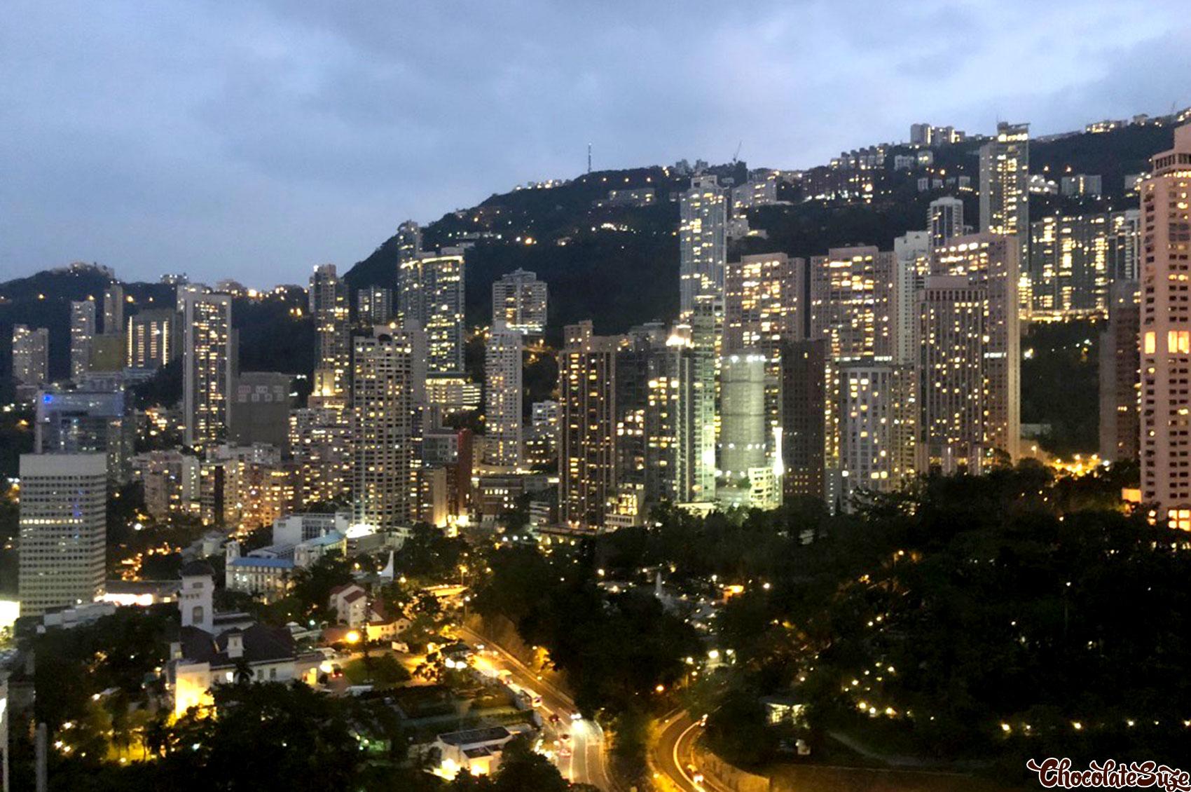 Hong Kong, nightscape