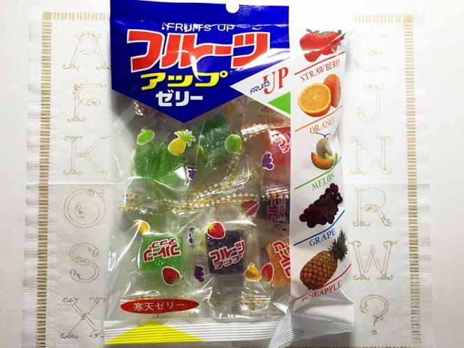 『豊栄』の「フルーツアップ」5種類のフルーツの寒天ゼリー