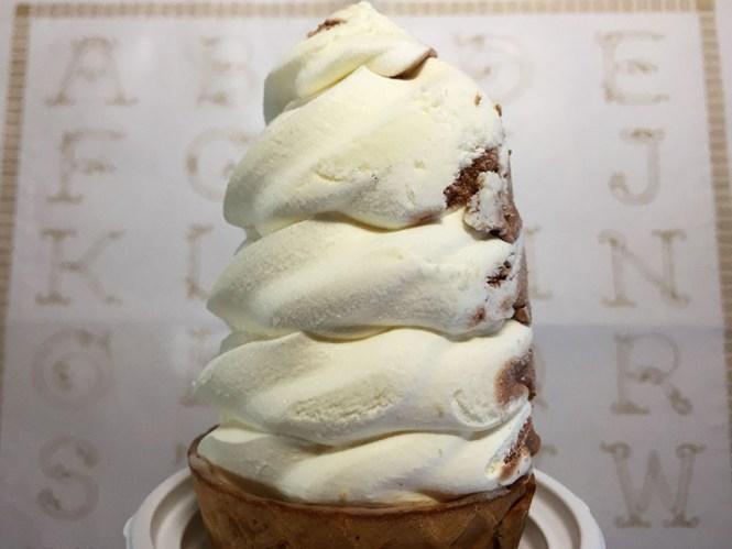 『セコマ』の「北海道クリーミーソフト」クリーミーアイスクリーム