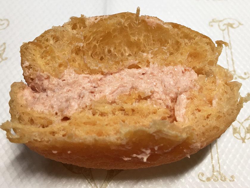 『ミスドミーツタニタ』の「ベジポップ3個入」トマトとイチゴの豆乳クリーム