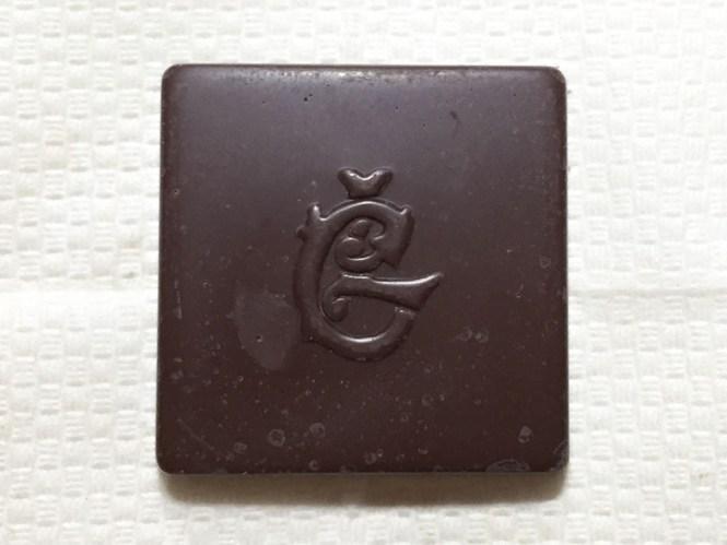『ロッテ』の「シャルロッテ生チョコレート」6種類のうちのひとつ、シャルロッテのC