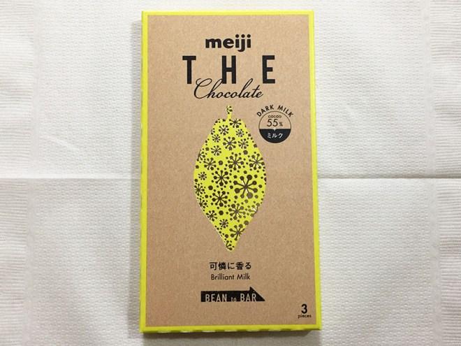 『明治』の「ザ・チョコレートブリリアントミルク」デザインはシリーズと同じ
