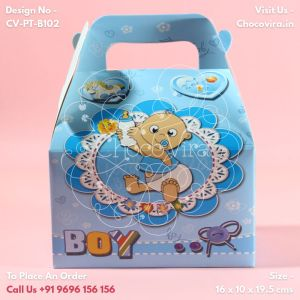 baby boy announcements chocolate boxes chocovira