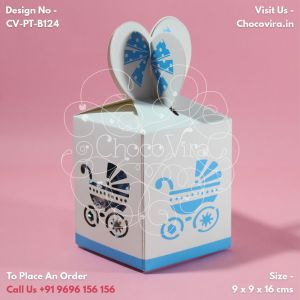 birth announcement chocolate boxes