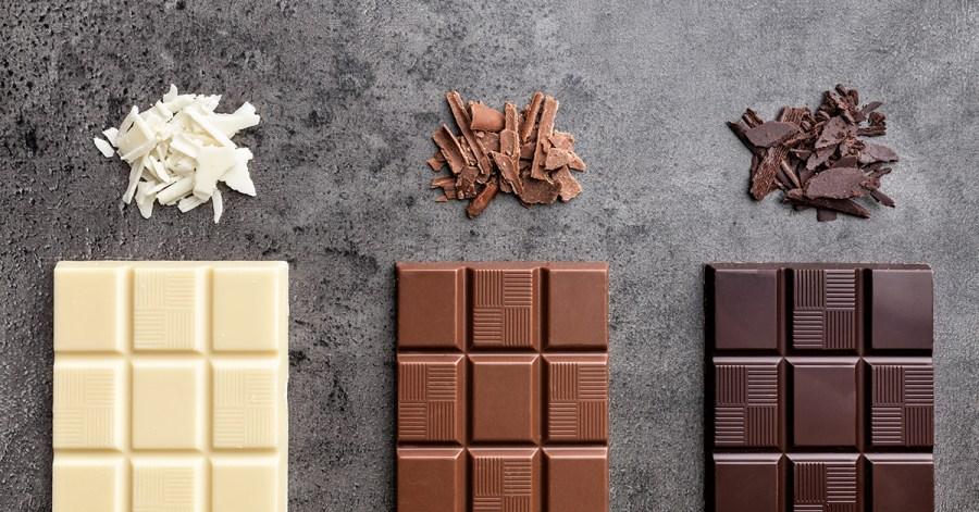 Dark Chocolate- Milk Chocolate- White Chocolate