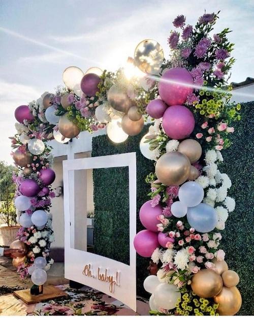 Balloon Baby Shower Decoration ideas