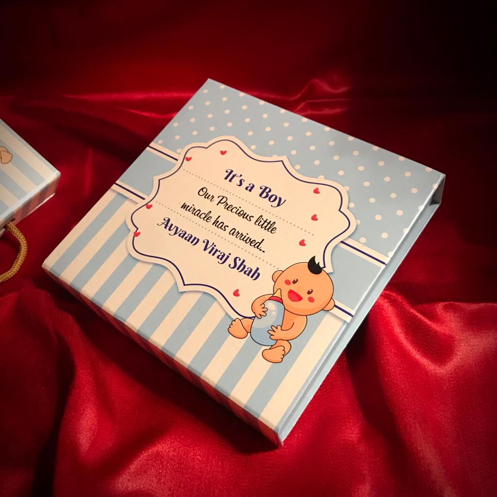 baby announcement gifts packaging