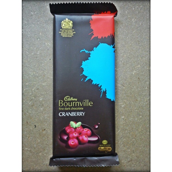 Cadbury bournville cranberry