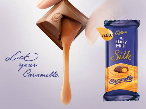 Dairy Milk Silk Caramello