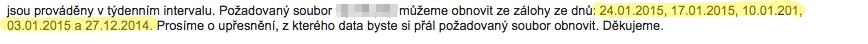 Onebit.cz - podpora