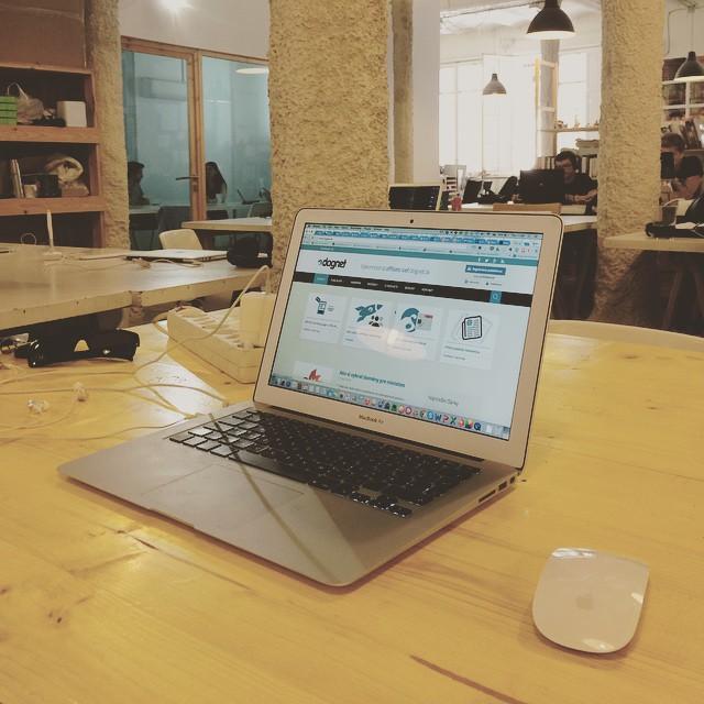 Coworking v Barcelone