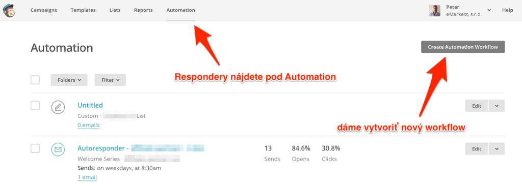 Automatizácia - 1. krok
