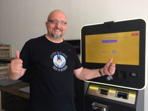 Karel Fillner sa teší z úspechu Litecoinu :)