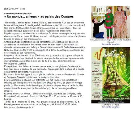 Bien Public 2009-04-02