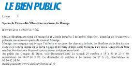 Bien Public 2011-10-19