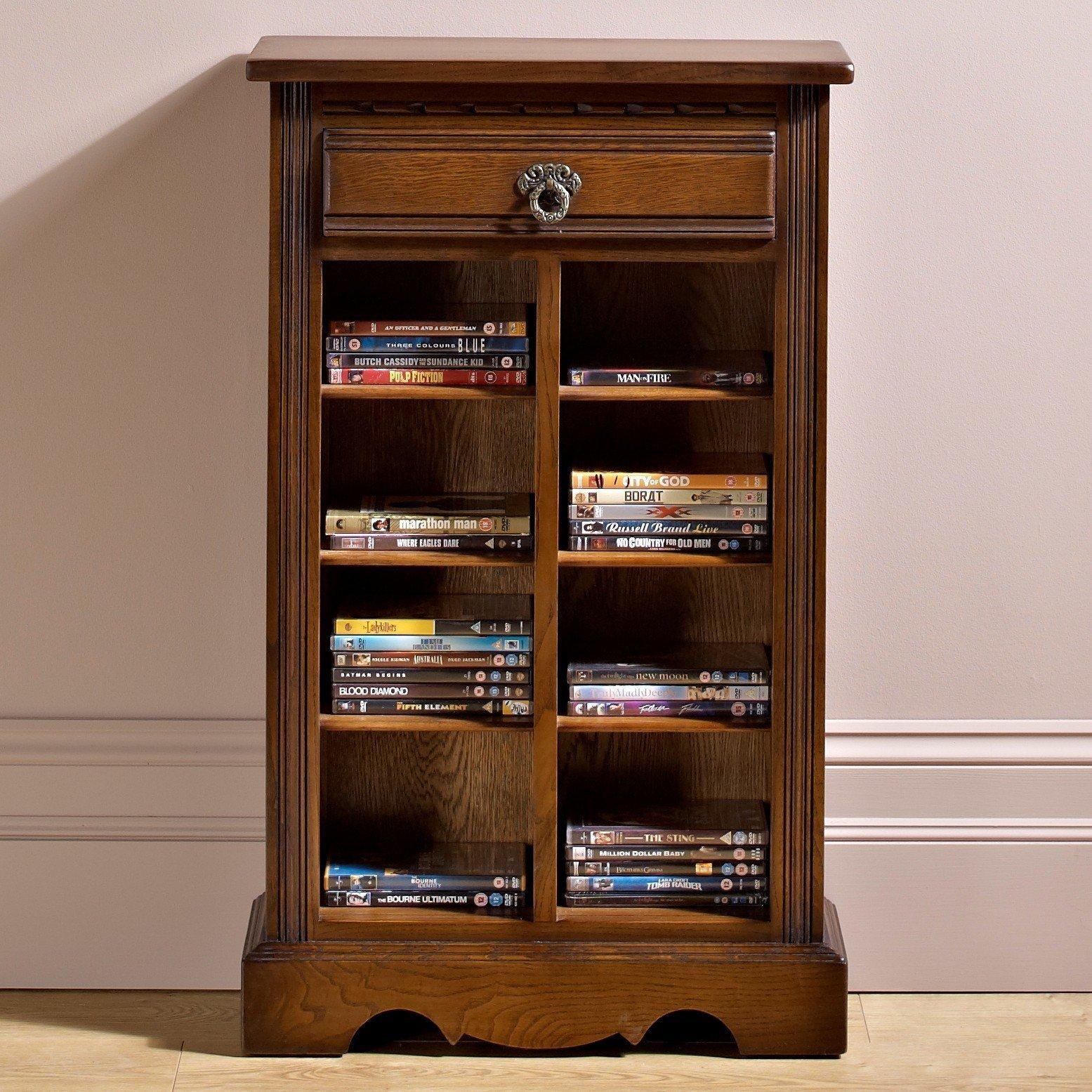 Wood Bros DVDCD Storage Cabinet Choice Furniture