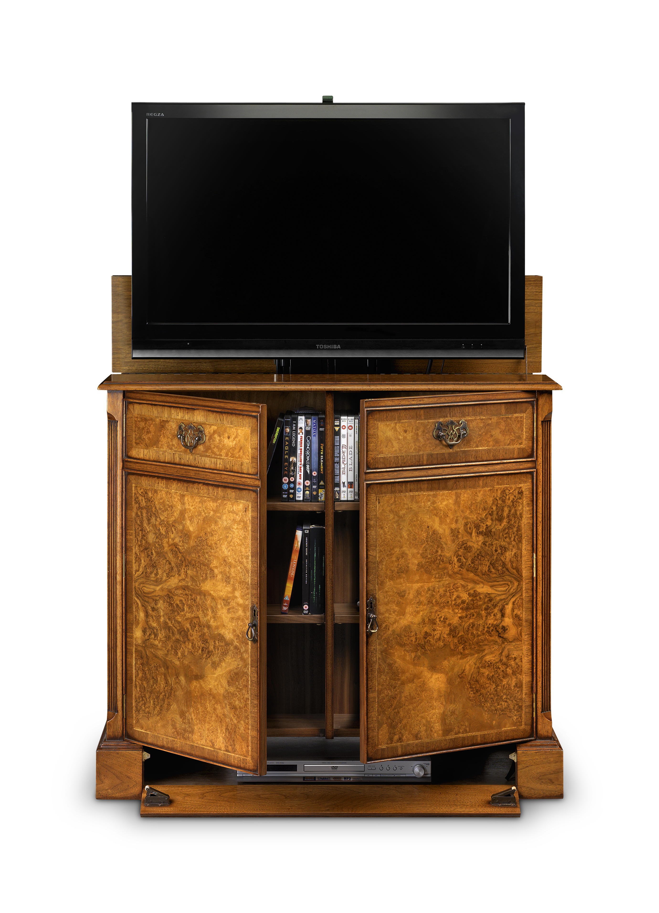 2 DOOR TV CABINET WITH SHALLOW FRONT STORAGE Choice