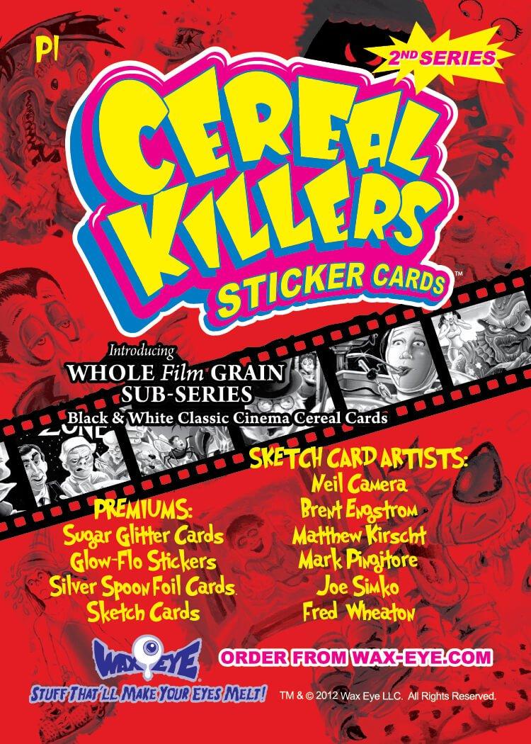Cereal Killers Choice Sports Cards