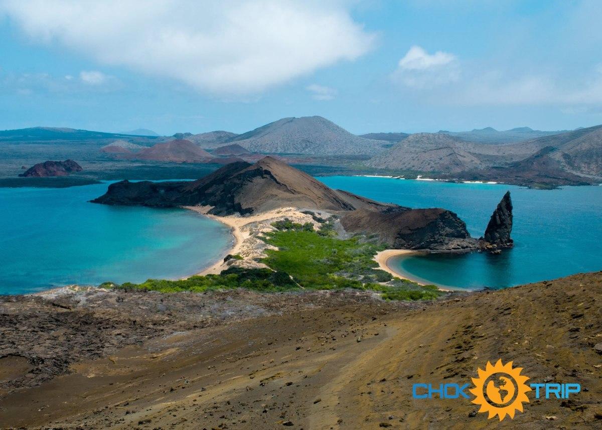 Bartolome island viewpoint