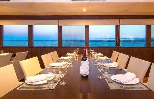 Odyssey Yacht dining room