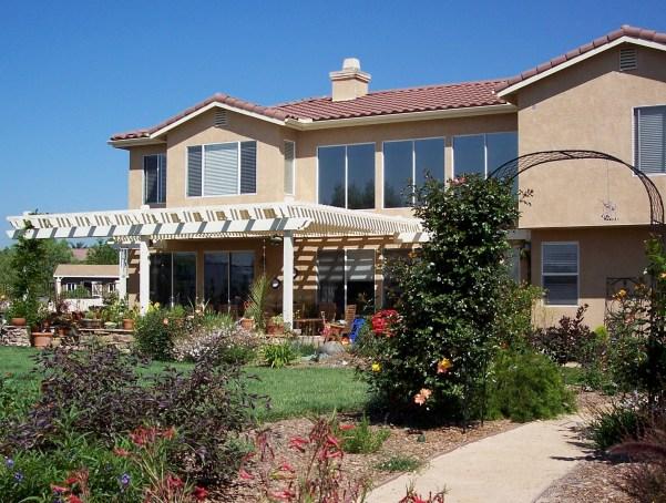 drought-tolerant garden in San Marcos