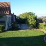 Lawn garden Before