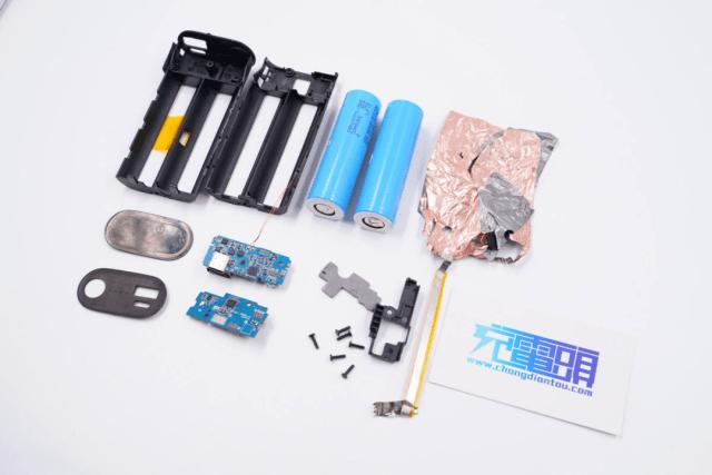 拆解報告:ZMI紫米10000mAh雙向快充移動電源高配版B818-充電頭網