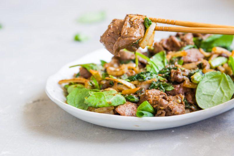 SHACHA VENISON STIR-FRY | 沙茶炒鹿肉