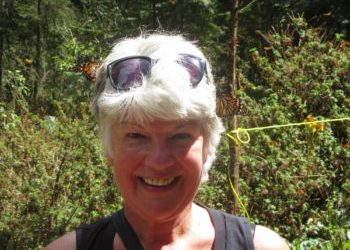 Gabriola Island Inspirational Person Ginny Miller and her love for Zumba