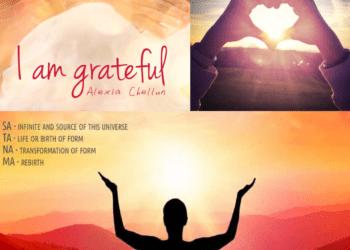 Vinyasa Yoga Class, lesson plan Class 7:Balasana/Child pose, I am grateful