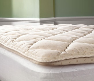A Pillowtop Mattress Pad