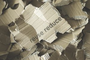cardboard pieces for pack fragile and valuable items