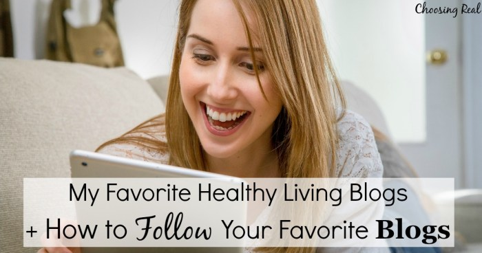 You can follow your favorite blogs without remembering to visit the blog each week. There are actually several options for how to follow your favorite blogs.