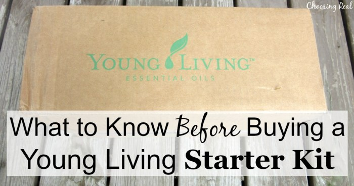 I had so much hesitation about buying a Young Living starter kit. That can sound like a big commitment if you are new to essential oils.