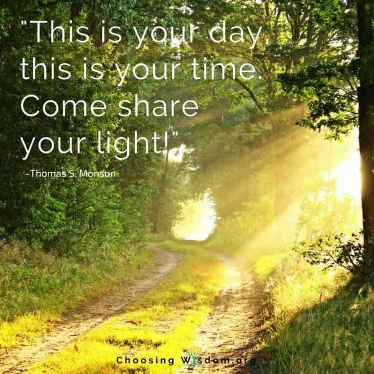 Share Your Light -Become a Contributor