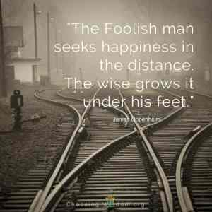Ponder the Path of Your Feet