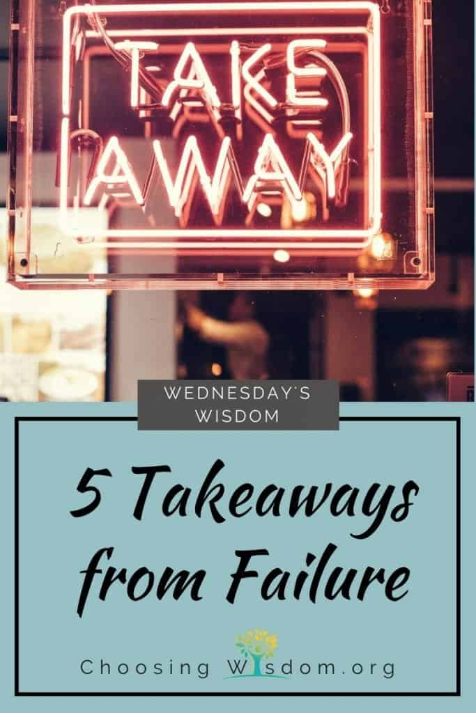 5 Takeaways from Failure