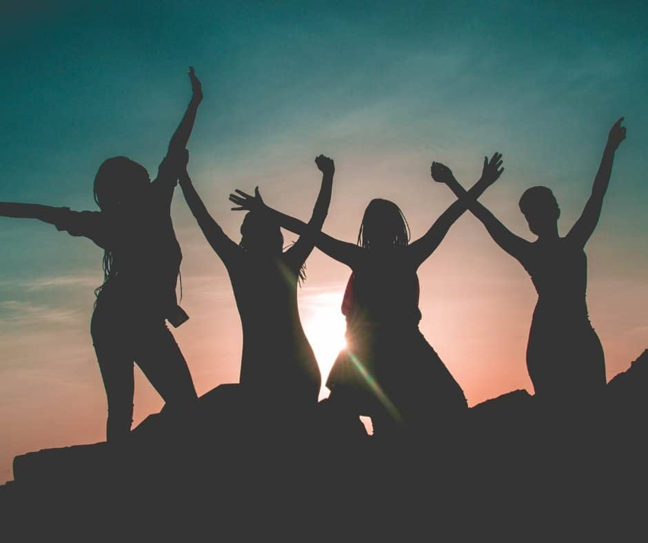 Why a Girls Weekend can Make you Feel SO Good