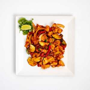Citromfüves chilis csirke